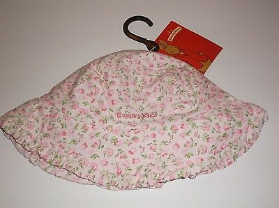Royal Doulton Bunnykins Girls Flower Design Sun Hat Brand New Size 00-0 Baby
