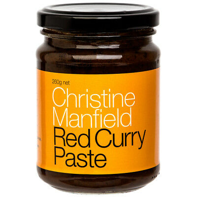 NEW Christine Manfield Red Curry Paste 260g