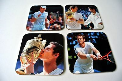 Andy Murray Wimbledon 2013 Champion UNTERSETZER Set