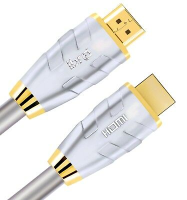 NEW Premium HDMI Cable v2.0 Gold High Speed HDTV UHD HD 2160p 4K@60hz 3D 1M-20M