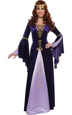 Guinevere Gwenevere Renaissance Medieval Queen Adult Womens Halloween Costume
