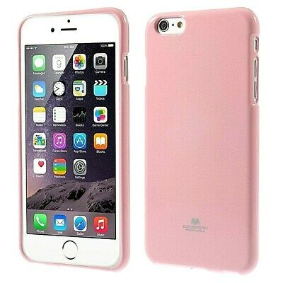 Genuine MERCURY Goospery Metallic Pink Soft Jelly Case Cover For iPhone 6/6s
