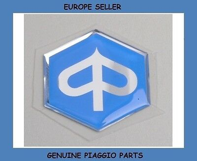 Piaggio Fly 50 2T / Piaggio Fly 50 4T 2006 - On Genuine Piaggio Badge Sticker