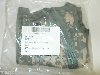 Acu Molle Ii Medical Bag Iv Bandoleer,  New 8465-01-524-7640