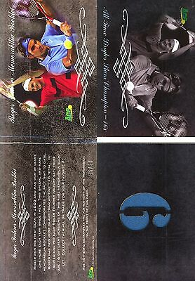 2011 Ace Authentic ROGER FEDERER Grand Slam Champions Memorabilia Booklet 6 /63