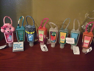 Bath And Body Works Pocket Bac Hand Gel & Holder-Choose Your Own Fragrance