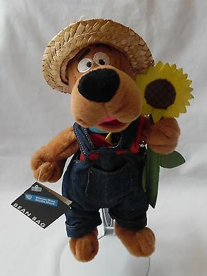 Warner Bros. Studio Store Scooby-Doo Farmer  Bean Bag Plush Toy 10""