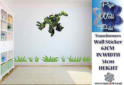 Transformers 2 High Quality children's bedroom wall sticker bedroom large.