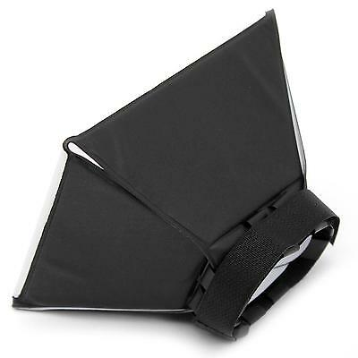 Portable Universal Flash Diffuser Light Foldable Soft Box For Flash Speedlight