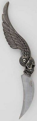 Skull Wing athame Witchcraft Ritual Supply