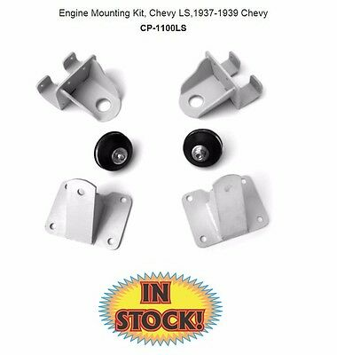 Chassis Engineering Motor Mount Kit for Chevy LS into 1937-1939 Chevy CP-1100LS