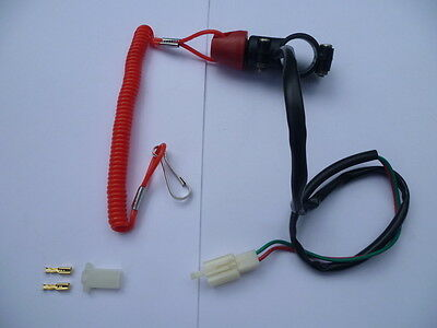 New Universal Boat Outboard Engine Stop Safety Kill Switch Tether Cord Lanyard