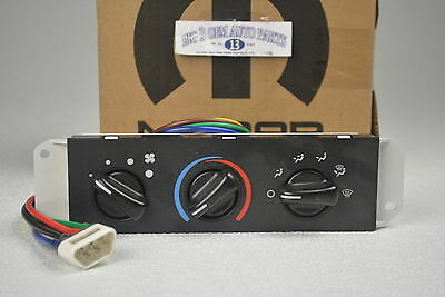 2005 2006 Jeep Wrangler Climate Temperature Control Unit new OEM 55056556AA