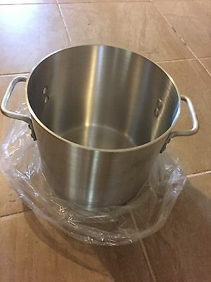 "20qt Aluminum Stock Pot 12"" x 10.5"" AXS-20"