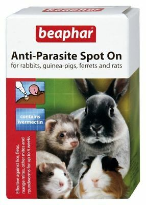 Beaphar Anti-Parasite Spot On  For Small Animals