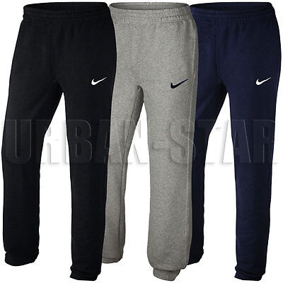 New Boys Nike Fleece Joggers, Tracksuit Bottoms, Track Sweat Jogging Pants