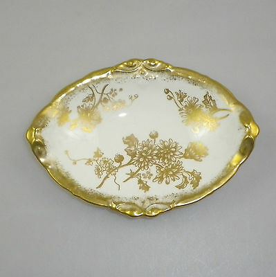Hammersley Gold Decorated Pin Dish Pattern 5030