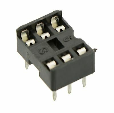 5 x 6-Pin DIP / DIL PCB IC Socket