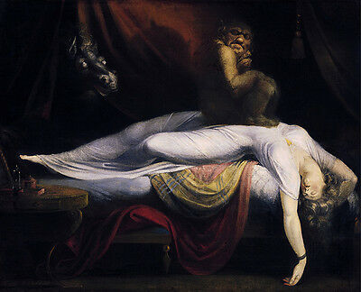 Henry Fuseli - The Nightmare Vintage Fine Art Print