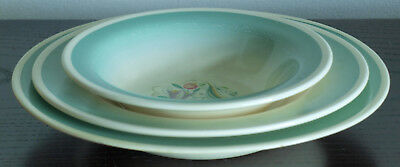 Vintage Susie Cooper Place Setting in Green Dresden Spray Pattern