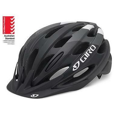 GIRO Revel Cycling Helmet Bicycle AUSSIE Bike STANDARD 54-61cm Black/White