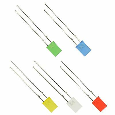 5mm Diffused Rectangle LED 7*5*2mm - 1st Class