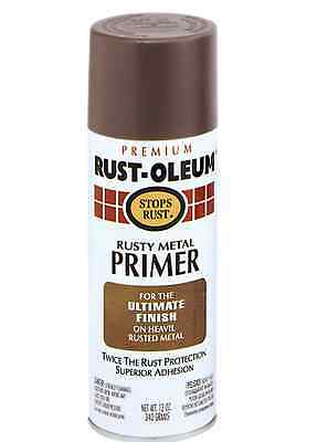 Rust-Oleum RUSTY METAL PRIMER Stops Rust, For the Ultimate Finish 340g