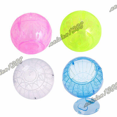 New Pet Mice Gerbil Hamster Jogging Playing Exercise Ball 10cm Plastic Toy avis