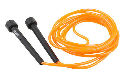 TRENAS Extra langes Speed Rope Orange 3,40 Meter  Schnelles Springseil Speedrope