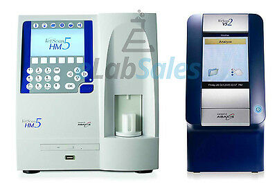 Abaxis Hm5 + Vs2 Analyzers - 1 Year Warranty Available!  Cbc Chemistry Vetscan