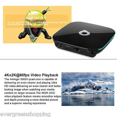4K*2K T95M S905 Smart TV BOX 8GB KODI/XBMC 3D WIFI HDMI Android6.0 Media Player