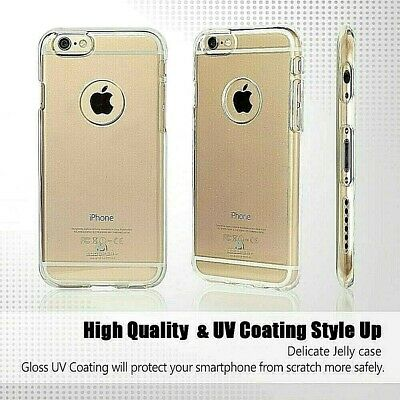 iPhone 6 Plus 6s Plus Genuine Goospery Clear Jelly Case Cover with Logo Cutout