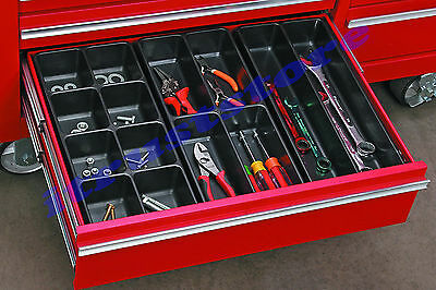3 Pc Tool Box Inside Drawer Organizer Divider For Kitchen Desk Tool Rollaway