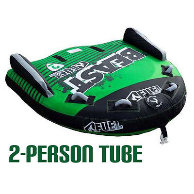Fuel Beast (2 Person) Surf Ski Tube Biscuit Inflatable *new*