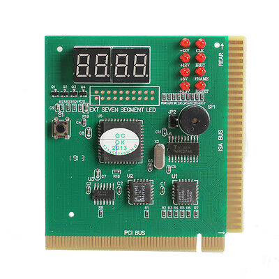 New 4-Digit LED Display PC Analyzer Diagnostic Card Motherboard Post Tester