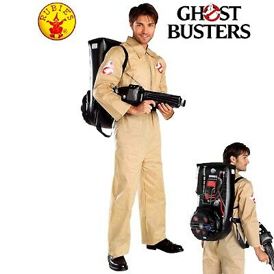 Ghostbusters 80s Movie Mens Fancy Dress Costume Licensed