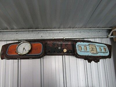 Vintage Retro English Bespoke  Car Dashboard Clock  P/up Only  Frankston Vic