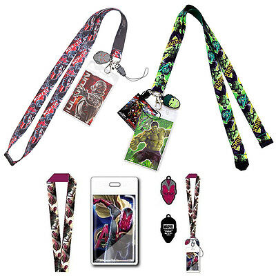 Marvel Comics Custom Character Printed Stylish Lanyard Heavy Duty Swivel Holder