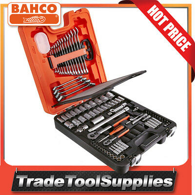 "Bahco 94 Piece ¼"" and ½"" Socket & Spanner Combo Set S87+7"