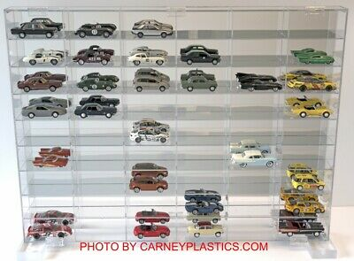 1:43 Diecast Minichamps Display Case 54 Compartment