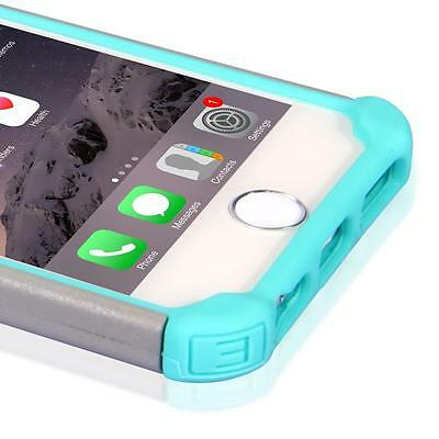 Hybrid Shockproof Hard&Soft Rugged Rubber Cover Case For Apple iPhone 6s Plus5.5