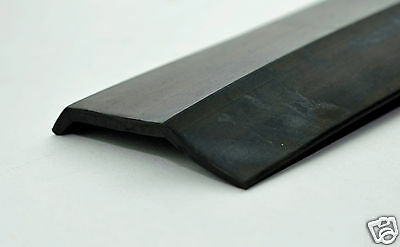 Garage Door Bottom Weather Stripping - for WOOD Garage doors - DENSE Rubber