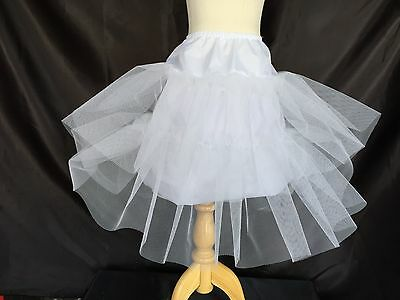A Line White Petticoat Toddler Girls Underskirt Slips Crinoline Accessory #21