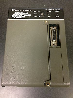 Texas Instruments 435DC Central Processing Unit CPU