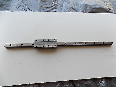 ROUNTER CNC LINEAR ACTUATOR slide rail 25 in long THK20TBA bearing block A5