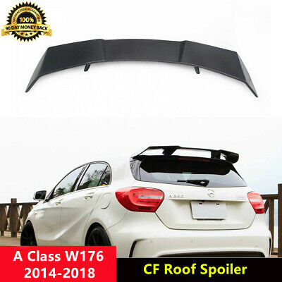 Carbon Fiber Rear Roof Spoiler Wing for Mercedes Benz W176 A180 A250 A260 A45