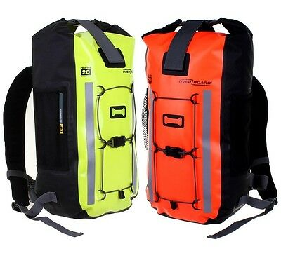 OverBoard Pro-Vis 20L Litre Waterproof Bag Backpack Rucksack Bike Cycling