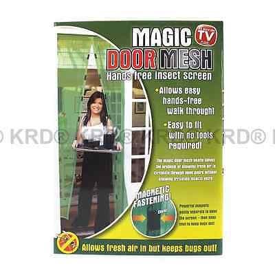 Jml magnetic fly screen door