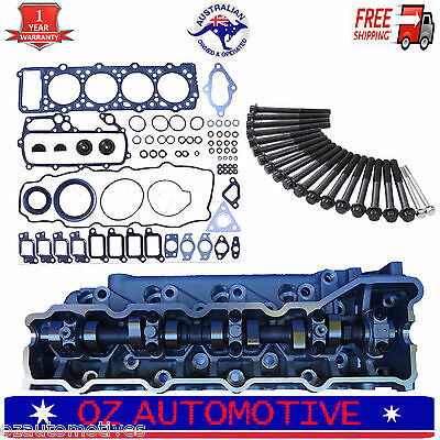 4M40T Complete Fully Assembled Cylinder Head Kit Mitsubishi Pajero Delica 93/07