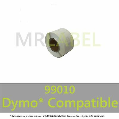 Dymo 99010 Compatible Roll Labels - FAST FREE UK SHIPPING - Multi Roll Discount